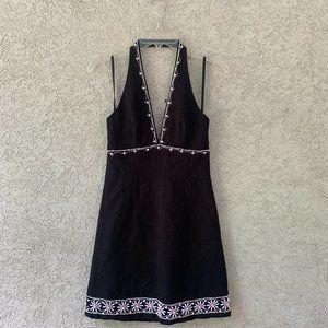 Lillie Rubin dress Black halter Women's 2